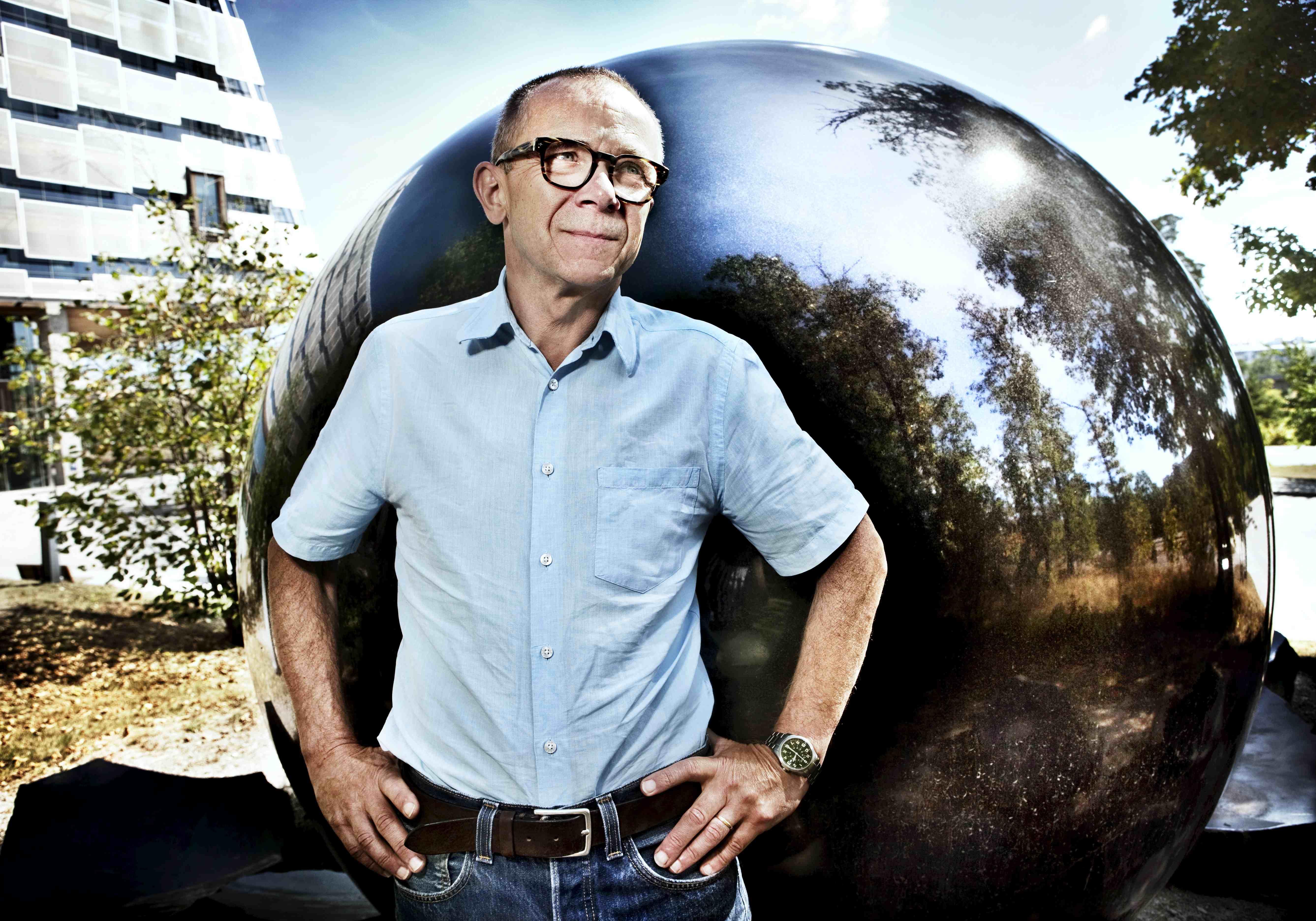 Arne Andersson, näthandelsguru på Posten. Foto: Magnus Laupa