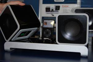 Ipod-stereo från Griffin Foto: Paul Bogatir