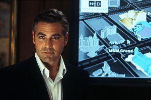 George Clooney i Ocean's Eleven.
